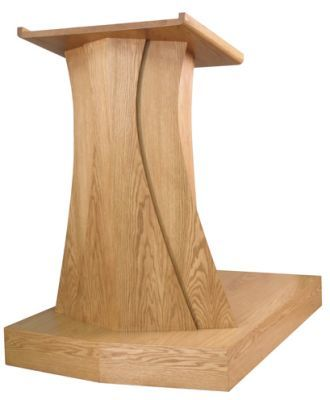 Wooden Pulpit Contemporary (Style 631)