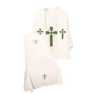 Beau Veste Resurrection Mass Set (Style Celtic Cross)