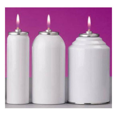 Metal Disposable Container for Nylon Candle Shell: 45 Hours, 24 per Case