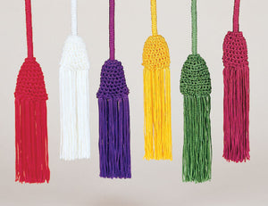 "158"" Rayon Tassel Cincture (Style 40)"