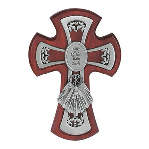 "6"" Cherry Pewter Gifts Of The Holy Spirit (Style: 77-23)"