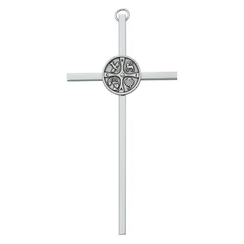 "6"" Silver RCIA Cross (Style: 77-42)"
