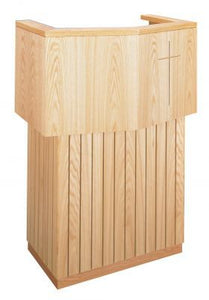 Wooden Pulpit with Cross Design (Style 3720)