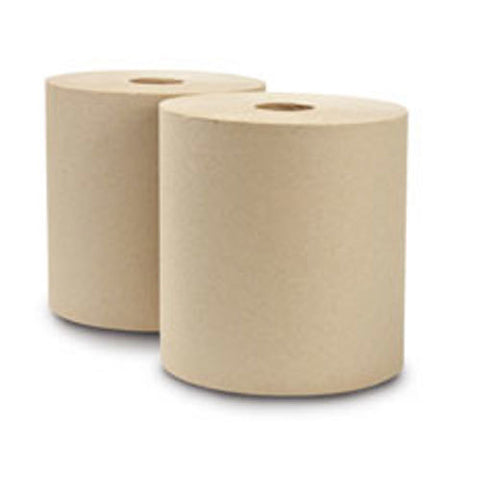 Universal Roll Towel, Eco-Soft: Brown