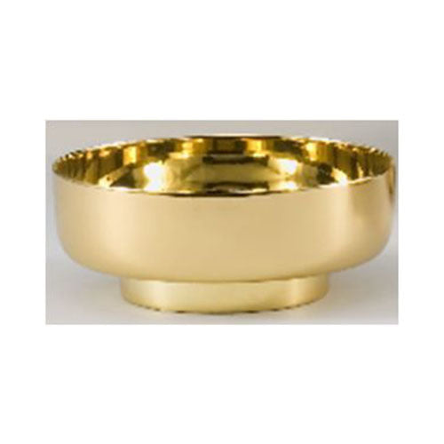 "6"" Bowl Paten with High Polished Interior (Style 4911-6)"