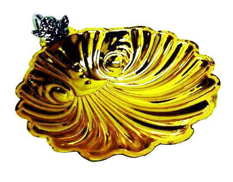 Baptismal Shell Gold Plated (Style 5113G)