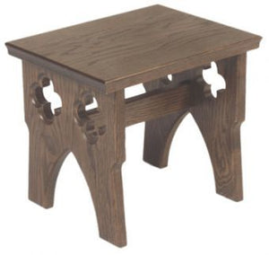 Wooden Server Stool (Style 1130)