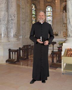 Cathedral Style Cassock Standard Size by R.J. Toomey (Style 391-SS)