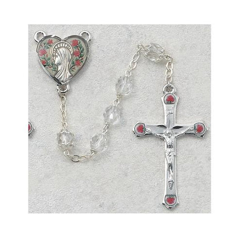 7mm Crystal Rosary (Style: 990D/F)