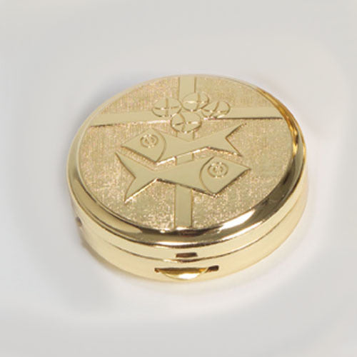 Gold Plated, Two-Tone Pyx (Style K3265)