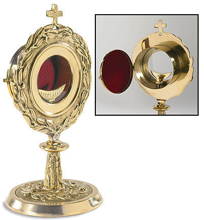 Monstrance with Removable Luna (Series TS687)
