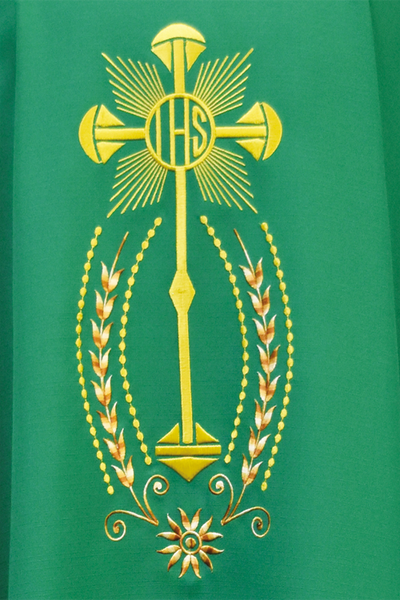Beau Veste Chasuble Embroidery Detail Style 846