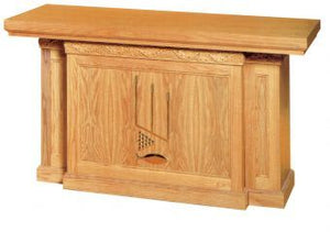 "Wooden Communion Altar, 84"" x 32"" (Style 1484)"