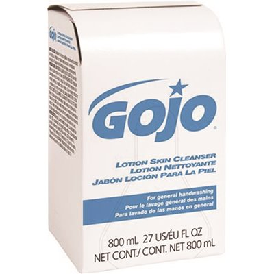 GOJO Lotion Skin Cleanser 800 mL Bag In Box Refills