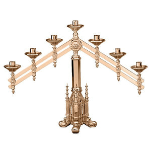 7 Light Altar Candelabra (Series 499-9)