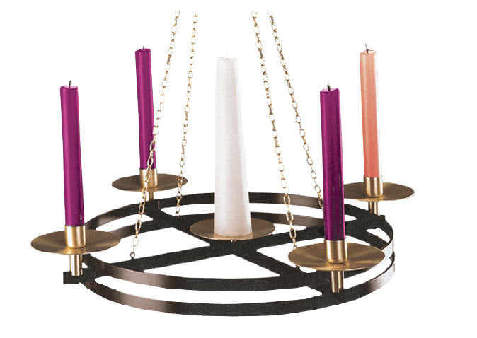 Hanging Advent Wreath (Style: ZZ3904)