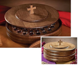 Wooden Communion Tray Lid (Series TC901)