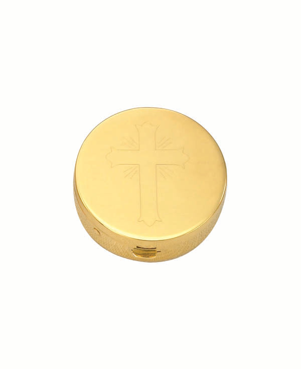 24K Gold Plated Pyx (Style 9851G)