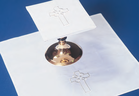 Washable Mass Linen Set: Three Inch Celtic Cross (Style 2003)