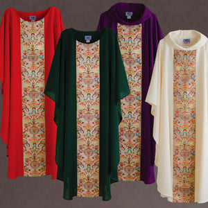 Coronation Chasuble and Stole (Style: 901)