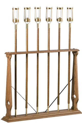 Processional Torch Stand, Style 3955