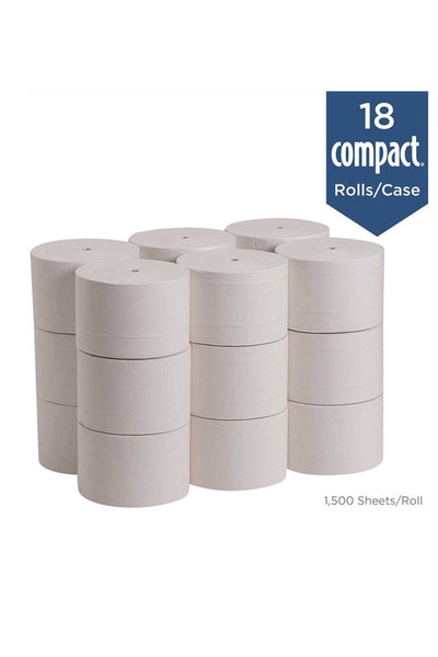 Compact Coreless. High Capacity Bath Tissue (Style: GPT 19378)