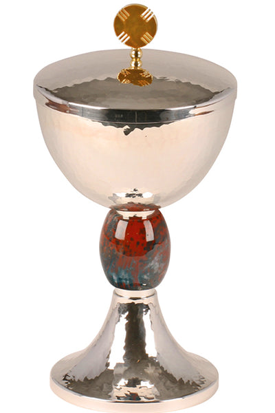 Traditional Ciborium (Style K2532) with Bloodstone