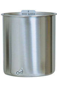Stainless Steel Holy Water Tank (Style K447)