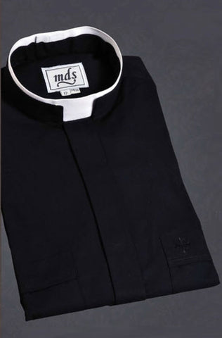 Tonsure Style Clergy Shirt by MDS