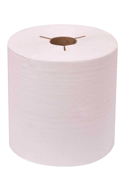 Control-Use Hard Roll Towel: White (Style: REN06131-WB)