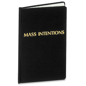 Mass Intentions Register by F.J. Remey (Style: 252)