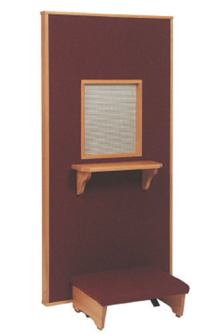 Confessional Screen with Kneeler (Style: 177)