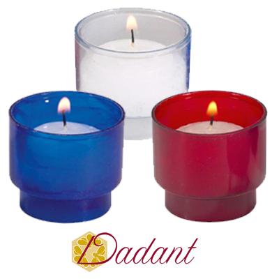 Dadant Brand: Disposable Votives in Plastic(4 Hour)