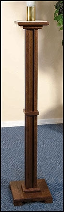 Paschal Candleholder (Walnut Finish)