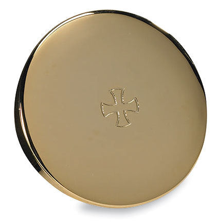 Gold Finish Hospital Pyx (Series TS679)
