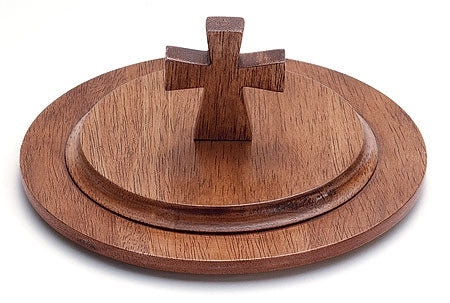 Handcrafted Maple Stacking Bread Plate Lid (Series KC483)
