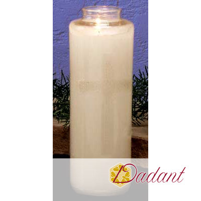 7 Day Sanctuary Candle: Bottleneck Glass 51% Beeswax