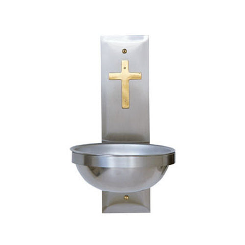 Holy Water Font with Stainless Steel (Style K149)