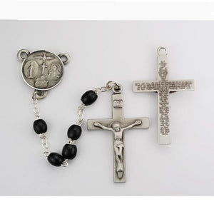 Black Wood Lord'S Prayer (Style: R639DF)