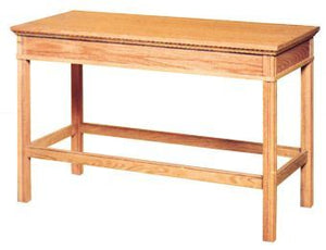 "Wooden Communion Table, 48"" x 24"" (Style 4460)"