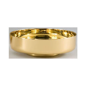 "7"" Bowl Paten with High Polished Interior (Style 4911-7)"