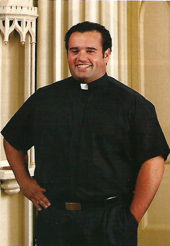 Short Sleeve Clergy Shirt (Style: 221)