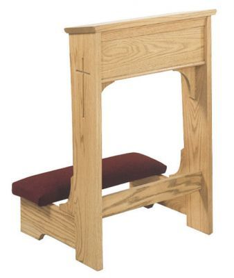 Wedding Prie with Shelf and Padded Armrest (Style 57WA)