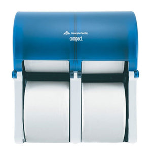 Compact Vertical 4 Roll Tissue Dispenser
