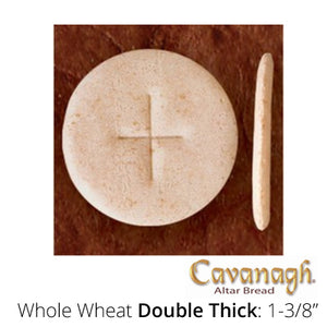 "Whole Wheat Altar Bread: 1-3/8"" Dia. (Double Thick)"