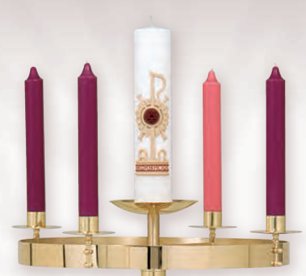 Advent Wreath Only (Style K556-A)