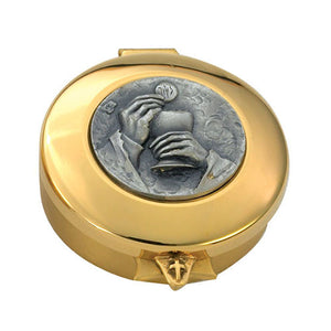 24K Gold Plated Pyx (Style 8471G)