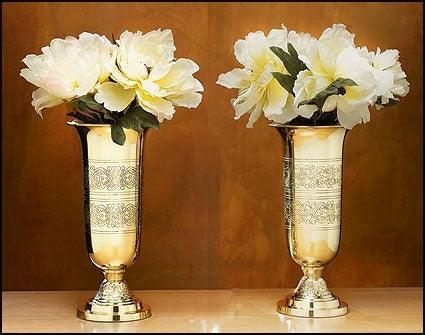 Filigree Altar Vases - Set of 2 (Series NS520)