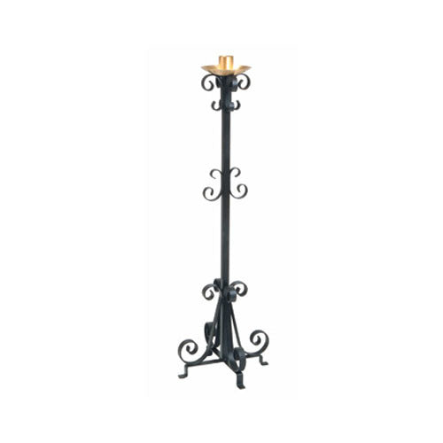 Wrought Irron Paschal Candle Holder (Style K4015)