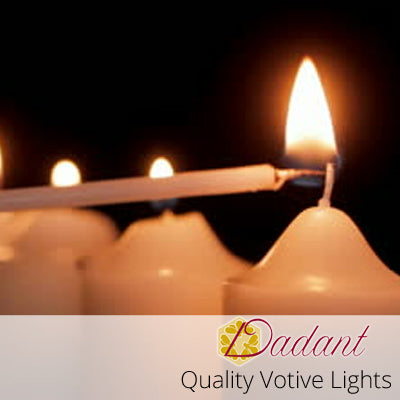 Quality Votive Candles: 4 Hour